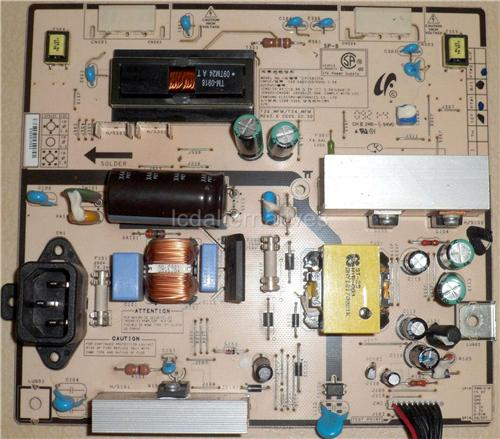 Samsung T260HD, LCD TV Repair Kit, Capacitors Only, Not the Entire Board