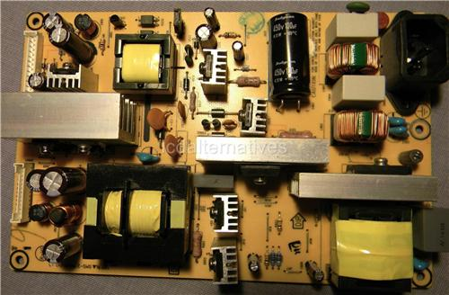 Envision L32W861 LCD TV Repair Kit, Capacitors Only, Not the Entire Board