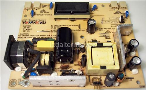Envision en9410 LCD Monitor Repair Kit, Capacitors Only Not the Entire Board