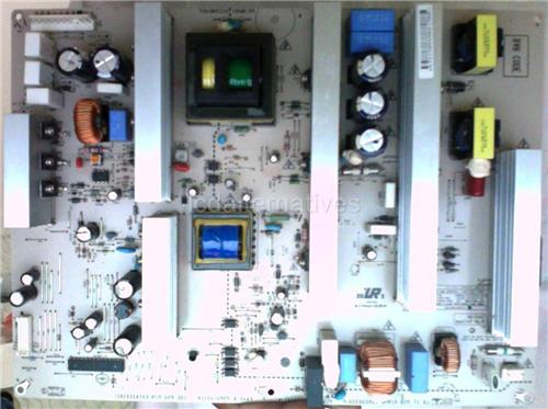 LG 42PG20-UA, LCD TV Repair Kit, Capacitors Only, Not the Entire Board