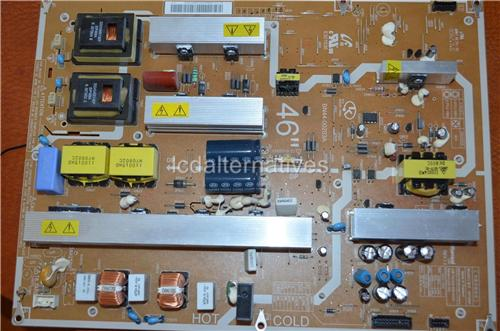 Samsung LN46A650, LCD TV Repair Kit, Capacitors Only, Not the Entire Board