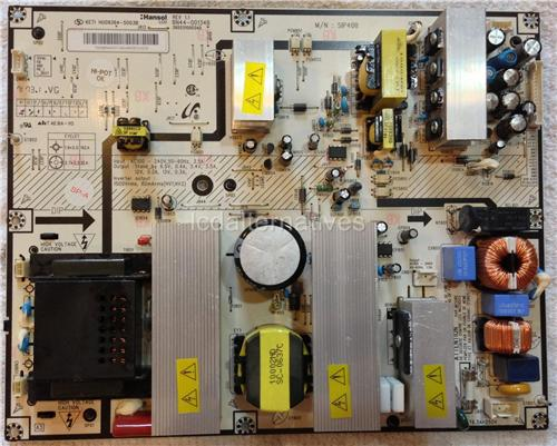 Samsung 400PX LCD TV Repair Kit, Capacitors Only, Not the Entire Board