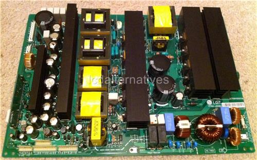 LG 50PX5D Plasma TV Repair Kit,, Capacitors Only, Not the Entire Board.