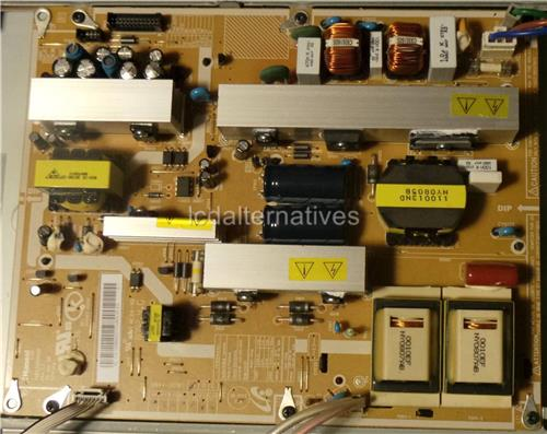 Samsung LN40A530P1F LCD TV Repair Kit, Capacitors Only, Not the Entire Board.