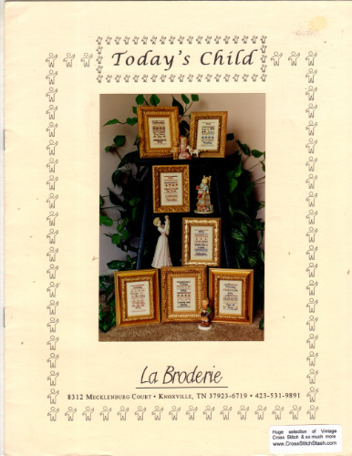 La Broderie TODAY'S CHILD