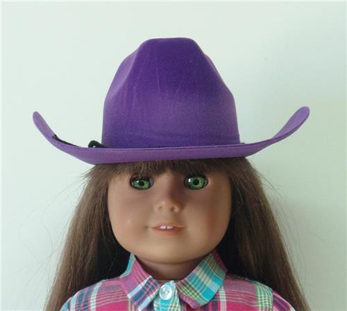 PURPLE COWGIRL HAT