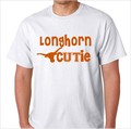 Longhorn Cutie UT University of Texas Hook Em Horns Shirt.jpeg