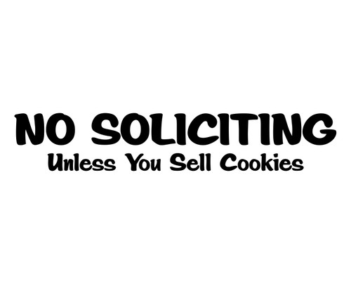 No Soliciting - Cookies.jpeg