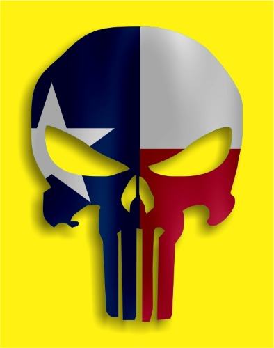 Punisher - TX Flag 2