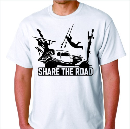 Share the Road - White