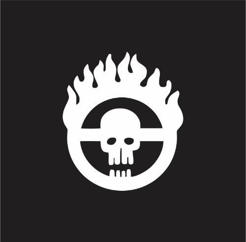 Decal - Mad Max Fury Road Brand - on black