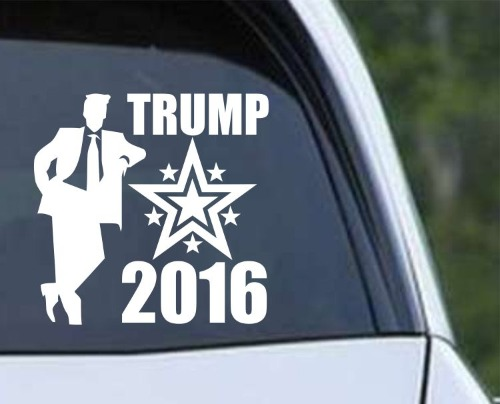 Donald Trump for president 2016 Standing