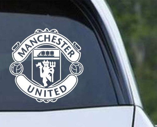 Manchester United Football Club Inspired Vinyl Decal