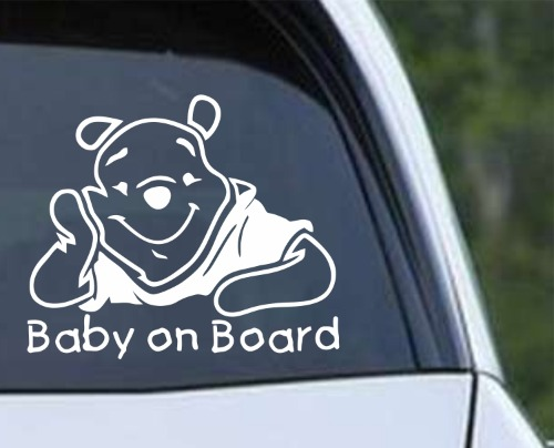 Baby on Board - Winnie the Pooh
