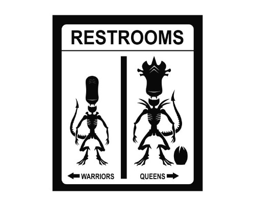 Aliens Restrooms