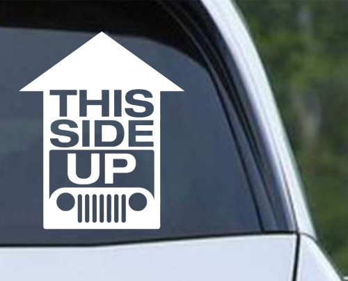 Jeep - This Side Up Funny