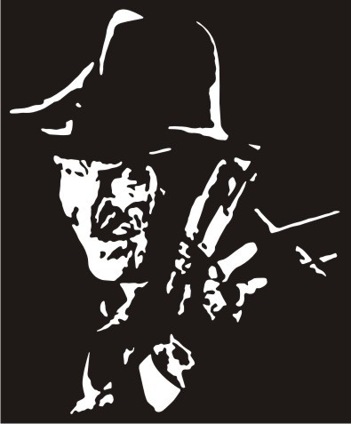 Freddy krueger vinyl decal sticker
