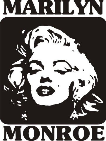 Marilyn Monroe Vinyl Decal Sticker Part 91