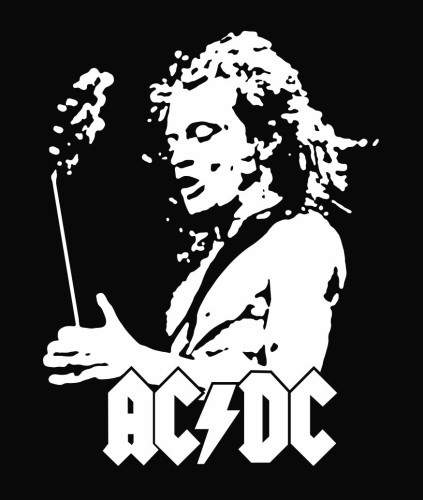 Ac Dc Angus Young Drawing