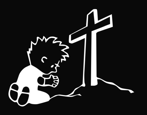 Calvin - Praying Cross.jpg