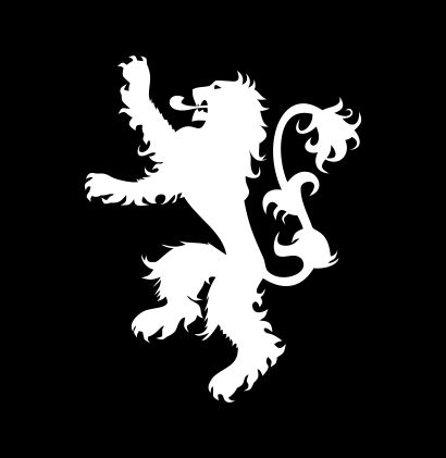 Game Of Thrones House Lannister Lion Jpeg