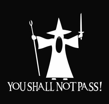 lord of the rings gandalf you shall not pass.jpeg