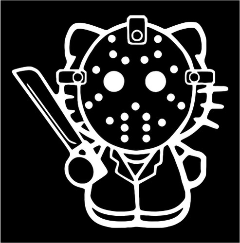 Hello kitty jason friday the 13th jpeg