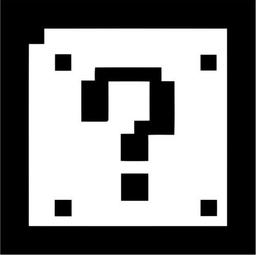 8 Bit Mario Bros Question Block Jpeg