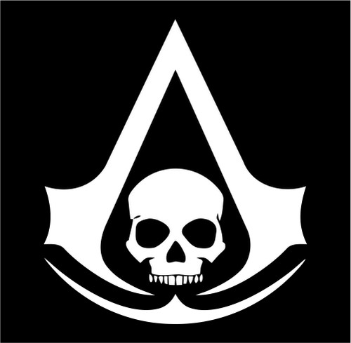 assassins creed 4 pirate skull black flag.jpeg