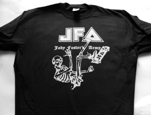 JFA tshirt Jody Fosters Army Out Of School Tour 1983 size xl brand new