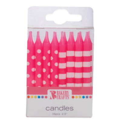 Dotted & Striped Pink Candles.jpeg