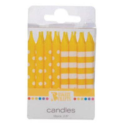 Dotted & Striped Yellow Candles.jpeg