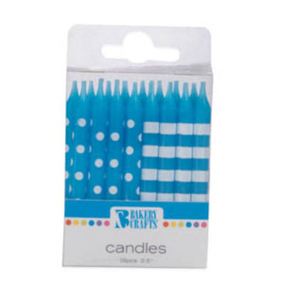 Dotted & Striped Blue Candles.jpeg