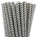 Black Chevron Paper Straws.jpeg