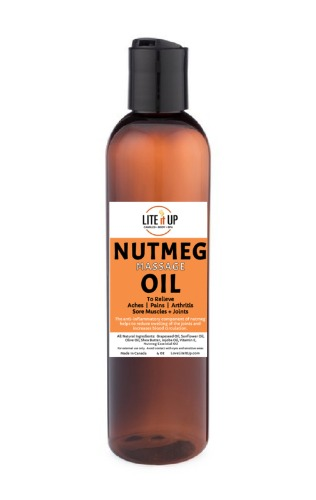 NUTMEG OIL BOTTLE