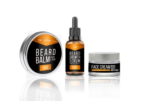 BALM SERUM FACE CREAM package TRIO