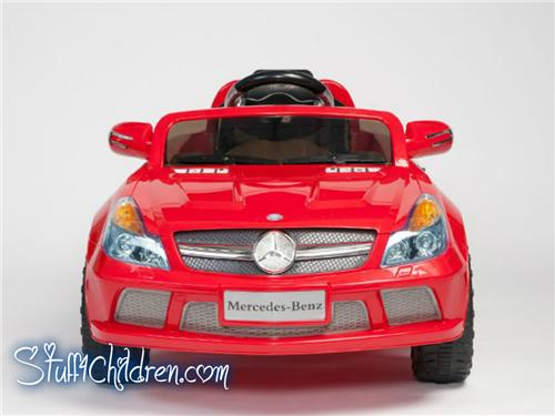 Wm sl65 kids ride on car battery operated mp3 remote for Car battery for mercedes benz