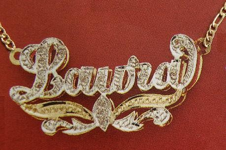 f60ab811ad43df 10K Gold Double 3D Name Plate Necklace free chain Personalized/d2. x-8.JPG  4/24/2010