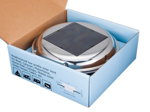 Marine SOLAR Ventilator EG SVT002 Attic Exhaust Fan For Boat Daynight P3164279 on wiring for boats