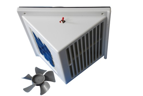Solar Powered Attic Wall Fan Exhaust Vent Extractor Eg