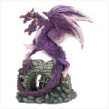Amethyst Dragon Figurine