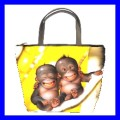 Bucket Bag Handbag 2 MONKEYS BABY Wild Animal Jungle NR (21646940)
