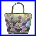 Bucket Bag Handbag ALIEN PLAYING POKER Texas Holdem Fun (21647489)