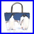 Bucket Bag Handbag ADELIE PENGUIN Antarctic Iceberg New (27188990)