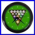 Wall Clock 8 BALL Table Billards Sign Pool Eight Game (11541917)
