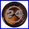 Wall Clock 24 Hours Studio Bedroom Office Boys TV Room (11541920)