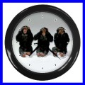 Wall Clock 3 MONKEYS See Hear Speak Animal Zoo Bedroom (11541998)