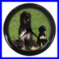 Wall Clock AFGHAN HOUND DOG Puppy Pet Animal Bedroom TV (11776708)