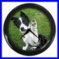 Wall Clock BORDER COLLIE Dog Puppy Pet Animal Vet Home (11776760)