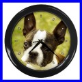 Wall Clock BOSTON TERRIER Animal Vet Home Dog Puppy Pet (11776765)